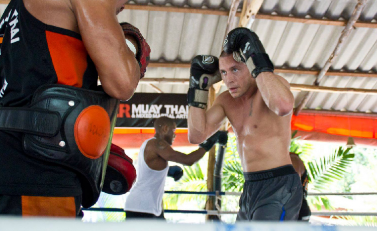 Muay Thai Website For Fitness and Online Technology